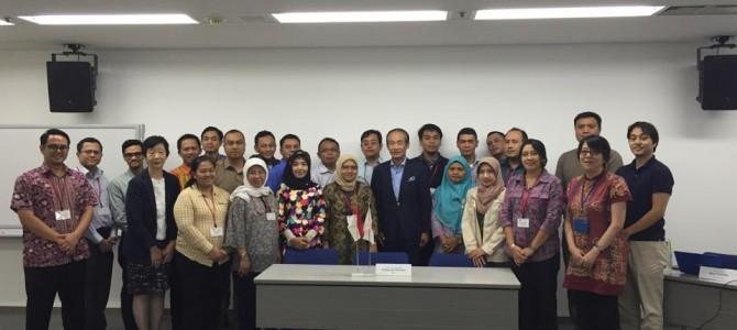 行革国際交流~part.2 インドネシア政府の役人と模擬仕分けを実施