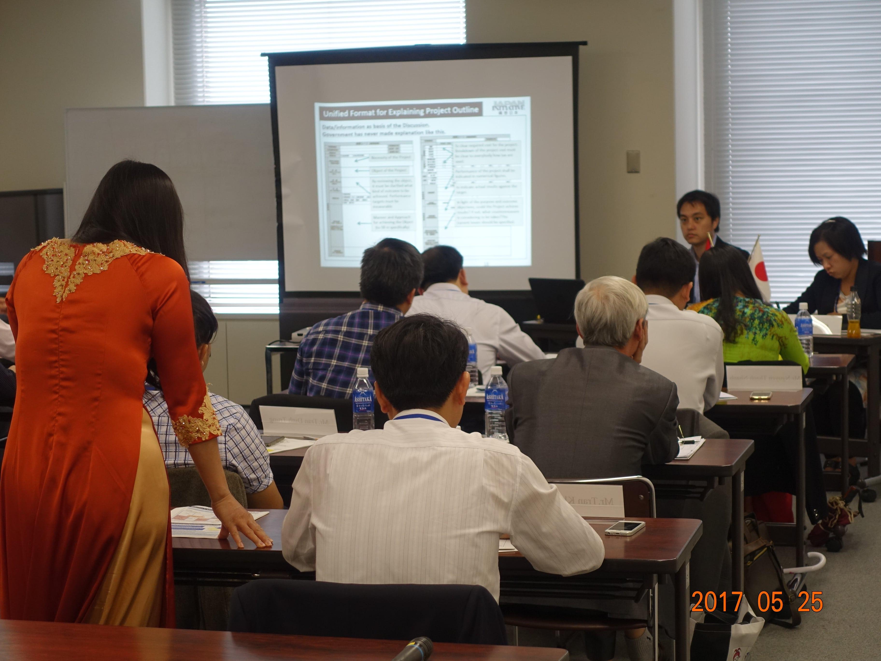 行革国際交流!ベトナムの公務員へ「事業仕分け」研修実施