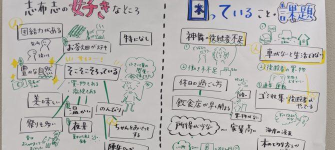 【実施報告】志布志市「住民を語る会」in志布志①が開催されました!